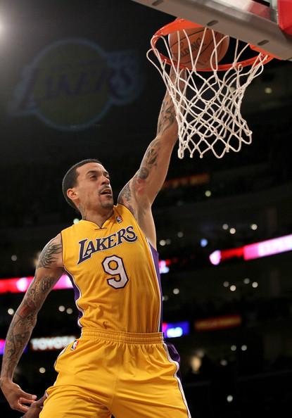 Matt Barnes Los Angeles Lakers - Keith Middlebrook Pro ...
