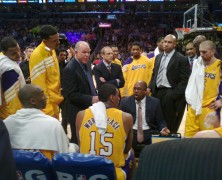 Los Angeles Lakers – Courtside Benchseats Game 7 Lakers vs Nuggets, Keith Middlebrook Pro Sports