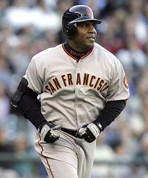 KEITH middlebrook Pro Sports, Barry bonds.