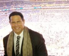 Keith Middlebrook attends Super Bowl XLVI