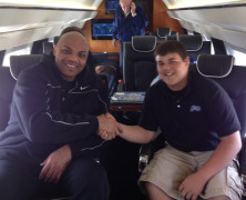 Charles Barkley Legendary NBA Champion on Keith Middlebrook's Gulfstream N355KM