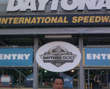 Keith Middlebrook attends the Daytona 500