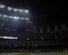 Keith Middlebrook attends SUPER BOWL XLVII!