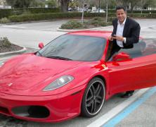 Keith Middlebrook's Ferrari F430 F1, Keith Middlebrook Pro Sports Entertainment, Keith Middlebrook Pro Sports.