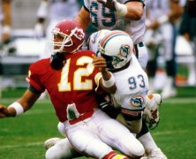 Keith Middlebrook and Charles Bennett, Miami Dolphins.
