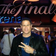 Keith Middlebrook attends the NBA Finals!
