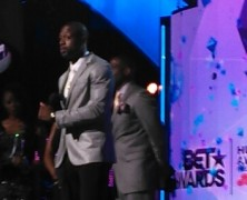 Keith Middlebrook attends the BET Awards, Dwayne Wade