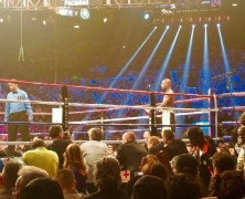 Mayweather vs Pacquiao, from the 6th Row. Keith Middlebrook