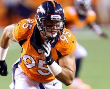 Derek Wolfe, extends 4 years with the Denver Broncos, Keith Middlebrook Pro Sports.