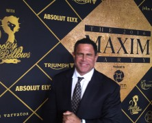 Super Icon Entrepreneur, Keith Middlebrook, attends the 2016 Maxim Superbowl party.