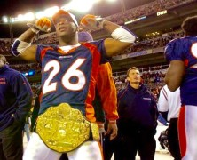 Re-Signed NFL Champion Clinton Portis, Keith Middlebrook Pro Sports.