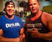 4X MR OLYMPIA JAY CUTLER and KEITH MIDLEBROOK at Golds Gym.