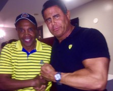 Keith Middlebrook, Keith Middlebrook Pro Sports, Sugar Ray Leonard, Legend of the Game.