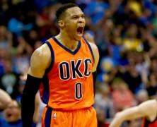 Russell Westbrook NBA MVP 2017, NBA SCORING CHAMPION.