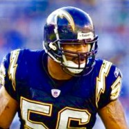 Signed NFL Champion Shawne Merriman, Elite Platinum Portfolios LLC, Keith Middlebrook Pro Sports.