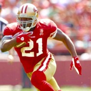 Signed NFL Champion Powerhouse Running Back, Frank Gore, Keith Middlebrook Pro Sports.