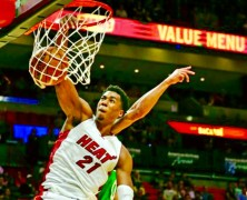 Signed NBA Champion Hassan Whiteside to Keith Middlebrook Pro Sports.