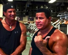 """NEW """"GYM TALK"""" EPISODES FILMED WITH MLB LEGEND JOSE CANSECO 40/40 & (R) REAL IRON MAN KEITH MIDDLEBROOK."""