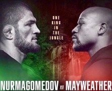 "Mayweather vs Nurmagomedov ""Undefeated vs Undefeated"" the Super Fight of the Century"