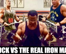 The Real Iron Man vs The Rock