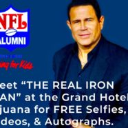 Keith Middlebrook The Real Iron Man, Live seminar FREE Selfies, Videos and Autographs.