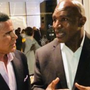 Legendary Boxing Icon Evander Holyfeild and Keith Middlebrook give to Charity.
