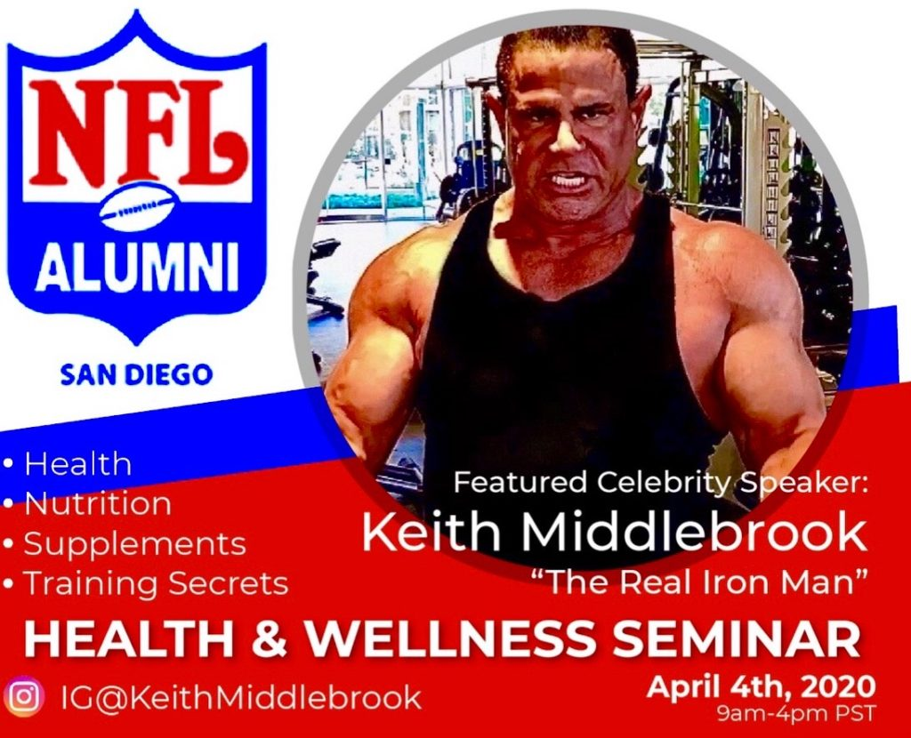 Keith Middlebrook, Keith Middlebrook Net Worth 2020 30 Million, The Real Iron Man, NBA, NFL, MLB, Keith Middlebrook Pro Sports, Keith Middlebrook YouTube, Instagram Keith Middlebrook