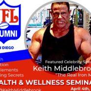 Health & Wellness Seminar meet The Real Iron Man Live!
