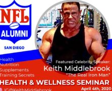 Health & Wellness Seminar meet The Real Iron Man Live!