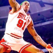 Dennis Rodman NBA Basketball Champion