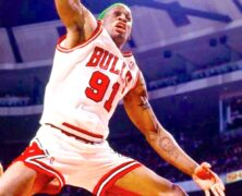 Dennis Rodman NBA Basketball Champion
