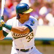 Jose Canseco Legendary Baseball Icon, ReSigned. – Keith Middlebrook