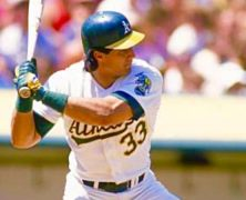 Jose Canseco Legendary Baseball Icon, ReSigned. – Keith Middlebrook