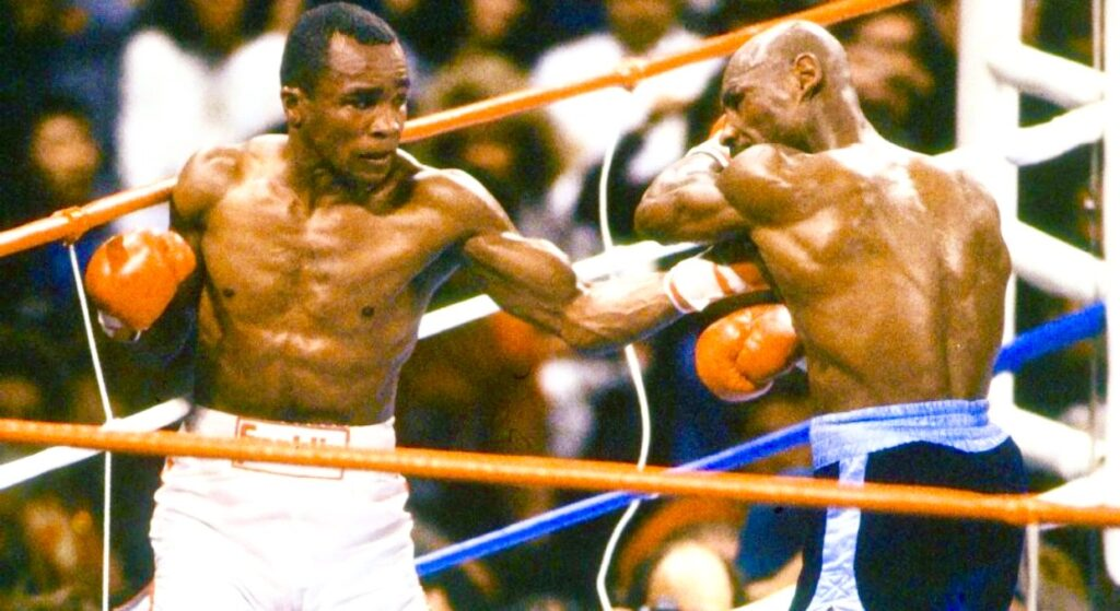 Sugar Ray Leonard, Keith Middlebrook, Boxing, Icon, Boxing Champion Sugar Ray Leonard, Keith Middlebrook Pro Sports, Marvelous Marvin Hagler,