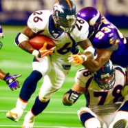 RESIGNED legendary football Icon Running Back Clinton Portis. – Keith Middlebrook