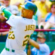 David Justice MLB Baseball Champion