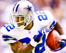 Emmitt Smith Legendary NFL Football Icon