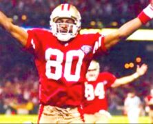Jerry Rice #1 Greatest NFL Wide Receiver of All Time. – Keith Middlebrook