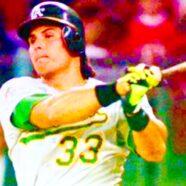 Jose Canseco Legendary MLB Baseball Icon