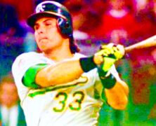 Jose Canseco Legendary MLB Baseball Icon