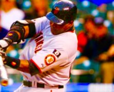 Barry Bonds Power Hitting MLB Baseball Home Run Legend