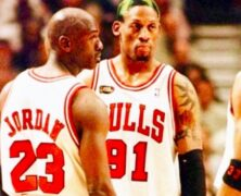 Michael Jordan, Dennis Rodman, Heroes Legends & Icons.