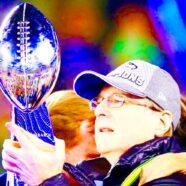 Paul Allen Seattle Seahawks Super Bowl Champion