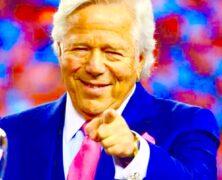 Robert Kraft New England Patriots 6 Time Super Bowl Champions.