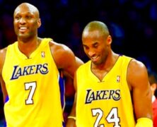 Lamar Odom NBA Champion, Sabrina Parr, Keeping Up with the Kardashians.